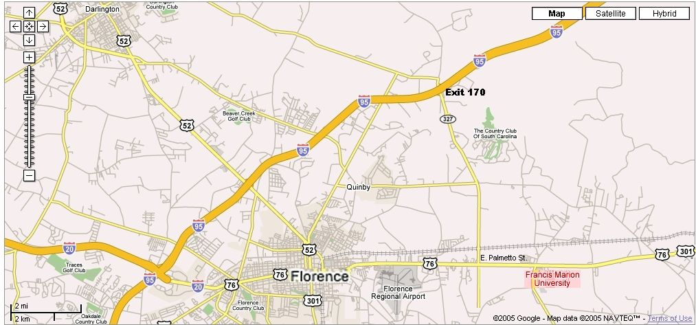 Francis Marion University Maps: FMU MAP