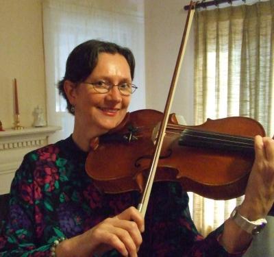 Mary Louise Nagata, violin and viola. Benjamin Woods, piano
